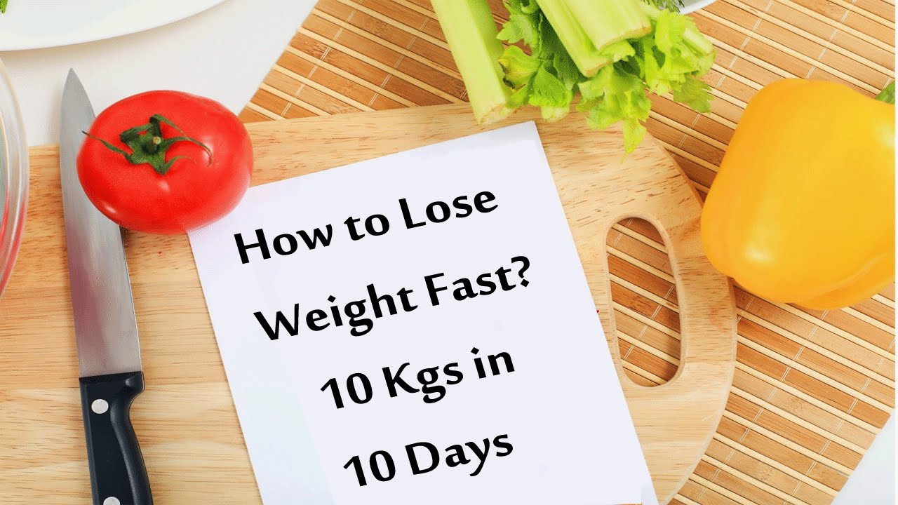 How to Lose Weight in Just  Days